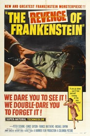 The Revenge of Frankenstein - movie with Peter Cushing.
