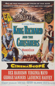King Richard and the Crusaders - movie with George Sanders.