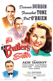 His Butler's Sister - movie with Alan Mowbray.