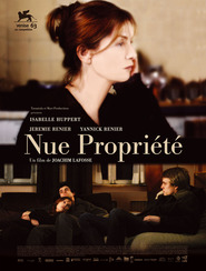 Nue propriete is the best movie in Isabelle Huppert filmography.