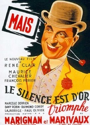 Le silence est d'or is the best movie in Maurice Chevalier filmography.