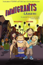 Animation movie Immigrants (L.A. Dolce Vita).