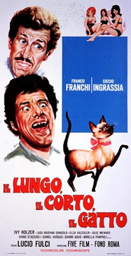 Il lungo, il corto, il gatto - movie with Ciccio Ingrassia.