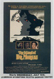 The Island of Dr. Moreau - movie with Burt Lancaster.