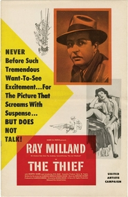 The Thief - movie with Ray Milland.