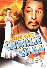 Charlie Chan in Egypt - movie with Warner Oland.