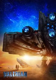 Film Valerian and the City of a Thousand Planets.