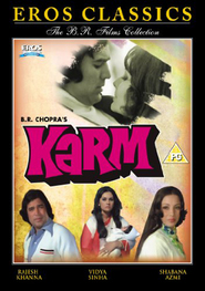 Karm - movie with Shabana Azmi.