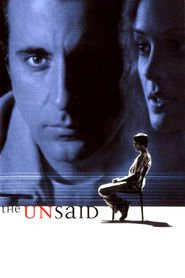 The Unsaid - movie with Andy Garcia.
