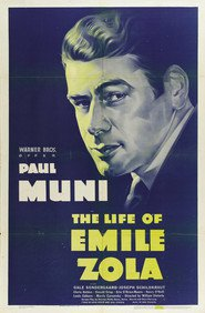 The Life of Emile Zola - movie with Louis Calhern.