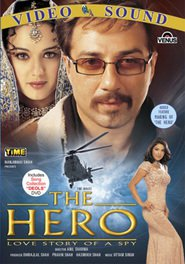 The Hero: Love Story of a Spy is the best movie in Kabir Bedi filmography.