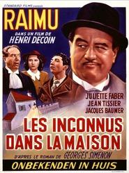 Les inconnus dans la maison is the best movie in Jean Tissier filmography.