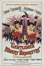 Gentlemen Marry Brunettes - movie with Eric Pohlmann.
