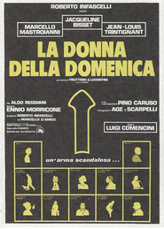 La donna della domenica - movie with Marcello Mastroianni.