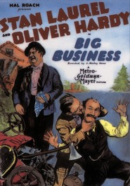 Big Business - movie with James Finlayson.