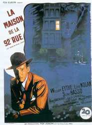 The House on 92nd Street - movie with Lloyd Nolan.