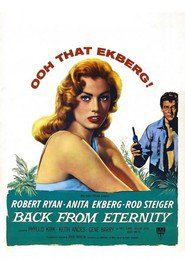 Back from Eternity - movie with Robert Ryan.