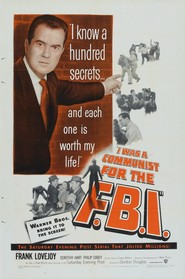 I Was a Communist for the FBI - movie with Frank Lovejoy.