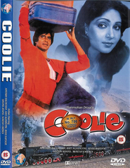 Coolie - movie with Amitabh Bachchan.