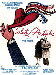 Salut l'artiste - movie with Marcello Mastroianni.