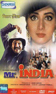Mr India - movie with Annu Kapoor.
