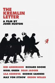 The Kremlin Letter - movie with George Sanders.