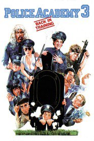 Police Academy 3: Back in Training - movie with George Gaynes.