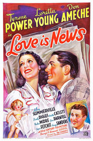 Love Is News - movie with George Sanders.