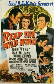 Reap the Wild Wind - movie with Ray Milland.