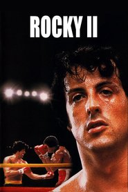 Rocky II - movie with Sylvester Stallone.