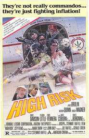 High Risk - movie with Anthony Quinn.