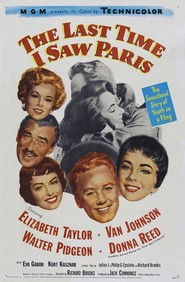 The Last Time I Saw Paris - movie with Eva Gabor.