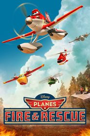 Animation movie Planes: Fire and Rescue.