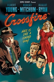 Crossfire - movie with Robert Ryan.