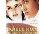 Akele Hum Akele Tum - movie with Rohini Hattangadi.