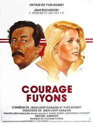 Courage fuyons - movie with Philippe Leroy.