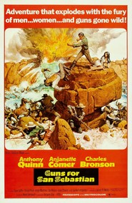 La bataille de San Sebastian - movie with Anthony Quinn.