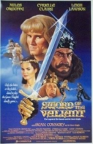 Sword of the Valiant: The Legend of Sir Gawain and the Green Knight - movie with Peter Cushing.