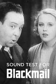 Sound Test for Blackmail is the best movie in Anny Ondra filmography.