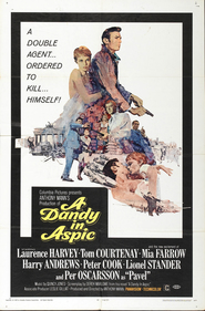 A Dandy in Aspic is the best movie in Per Oscarsson filmography.