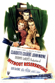 Without Reservations is the best movie in Claudette Colbert filmography.