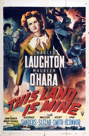 This Land Is Mine - movie with Walter Slezak.