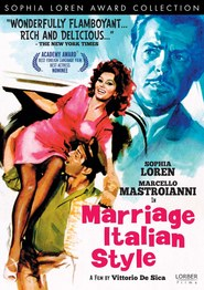 Matrimonio all'italiana - movie with Marcello Mastroianni.