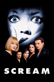 Scream - movie with Drew Barrymore.