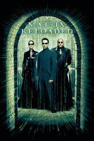 The Matrix Reloaded - movie with Laurence Fishburne.