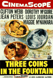 Three Coins in the Fountain - movie with Rossano Brazzi.
