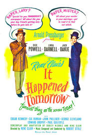 It Happened Tomorrow - movie with George Cleveland.
