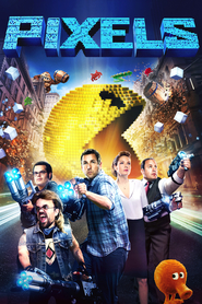 Pixels - movie with Kevin James.