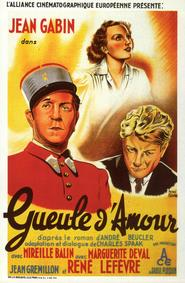 Gueule d'amour - movie with Jean Gabin.
