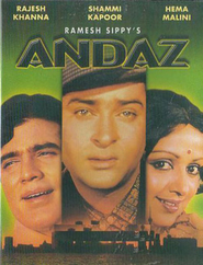 Andaz - movie with Ajit.